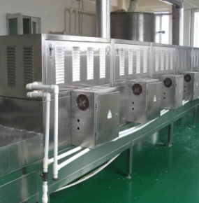 Higher power microwave degreasing equipment can be customized